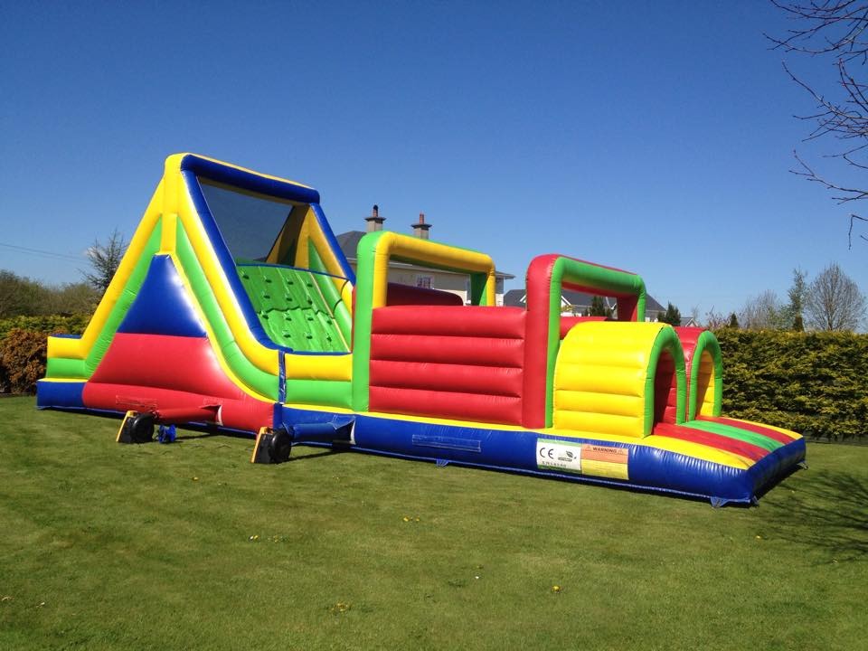 bounce around obstacle course