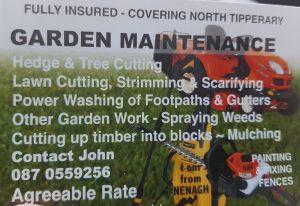 garden maintenance tipperary nenagh