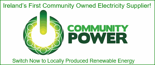 Community Power Ireland's first Community Owned Electricity Supplier